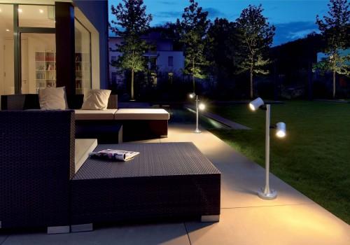 Illuminazione giardini como