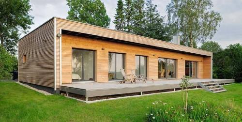 Bungalow e case in legno como - Casa ecologica prefabbricata prezzi ...